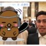 アビスパ福岡木戸選手と記念撮影